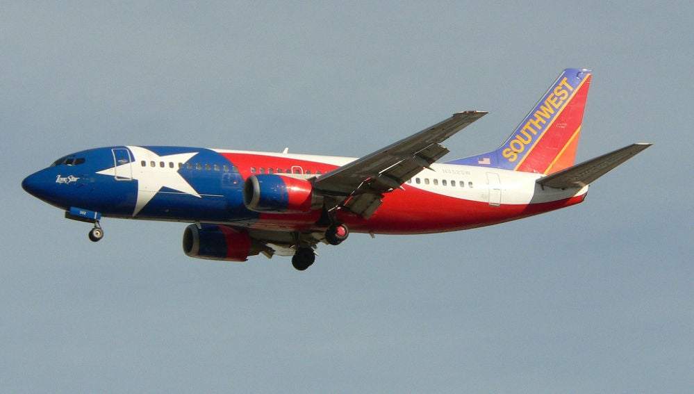 Avión de la compañía Southwest