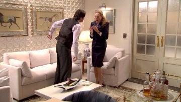 """Gabriel se pone agresivo con Natalia y Carlos: """"Él va detrás de ti y tú le sigues la corriente"""""""