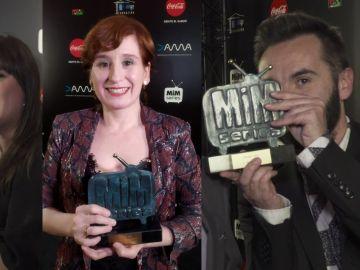 Los galardonados de Atresmedia en los Premios MiM