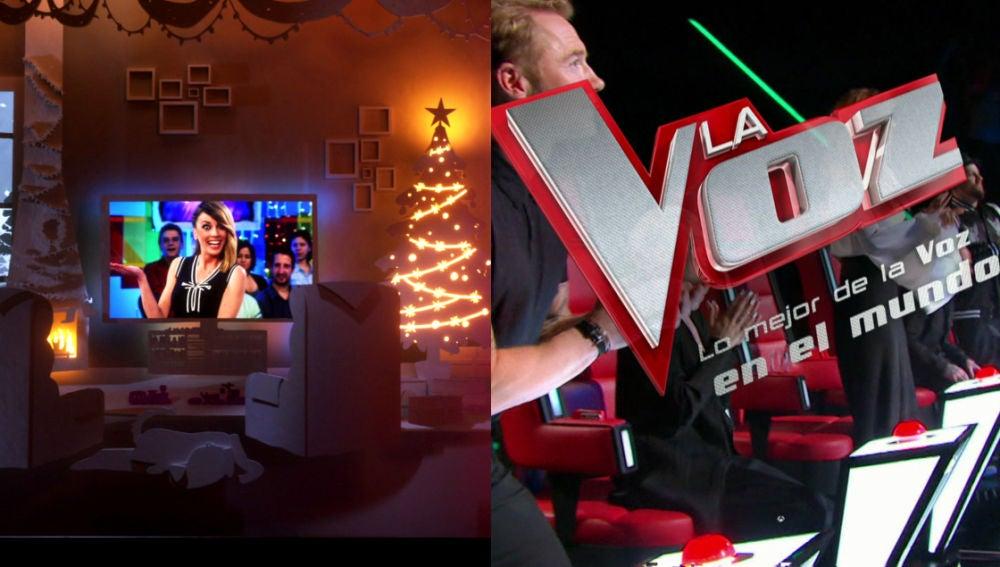 Programación Nochebuena Antena 3