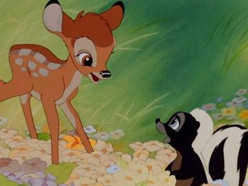 Escena de 'Bambi'