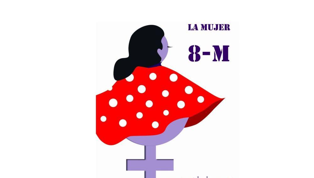 El diseño de Laura Luelmo para el 8-M