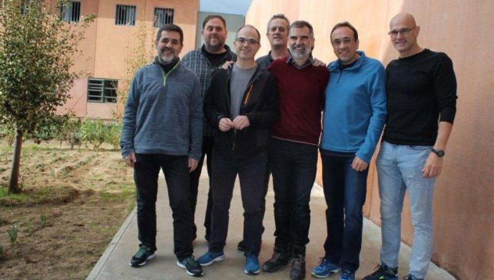 Los líderes del procés en la cárcel de Lledoners