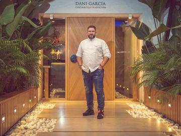 Dani García, en su restaurante.
