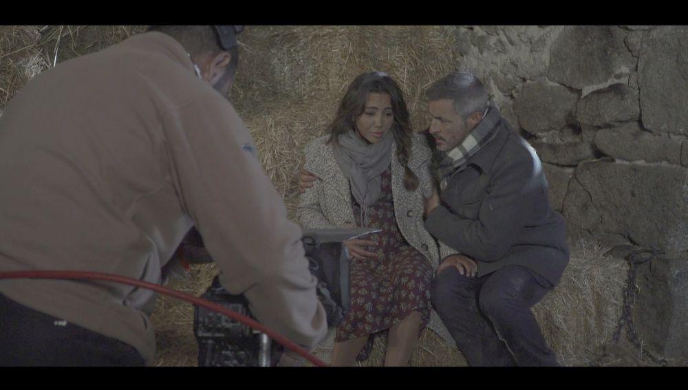 Nos colamos tras las cámaras en el rescate de Emilia y Alfonso