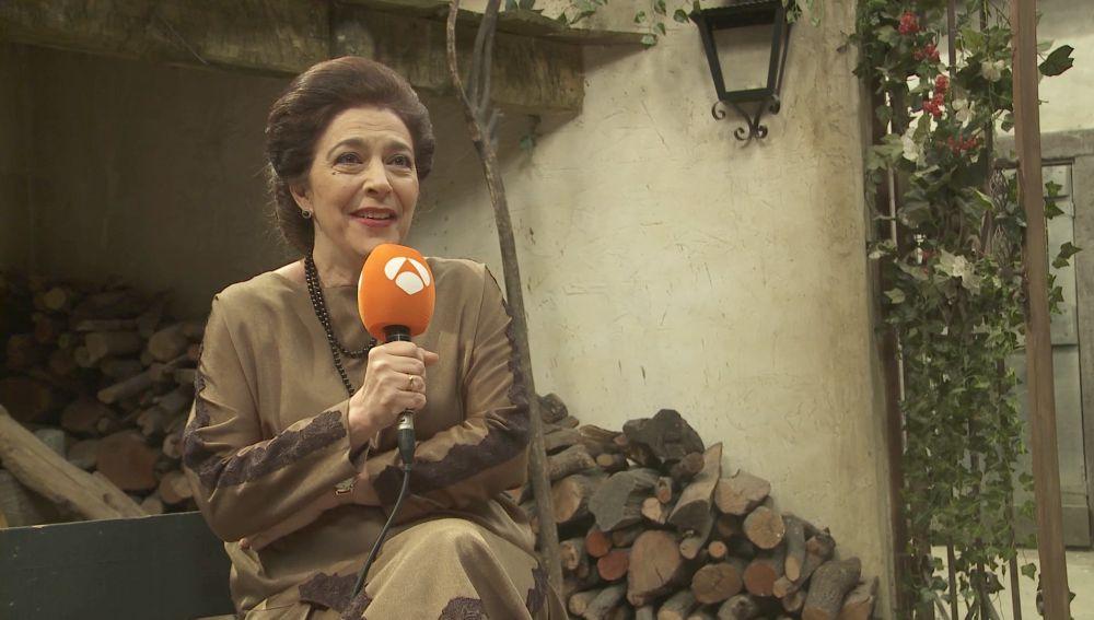 """María Bouzas: """"Francisca Montenegro volverá a tener todo el poder en La Casona"""""""
