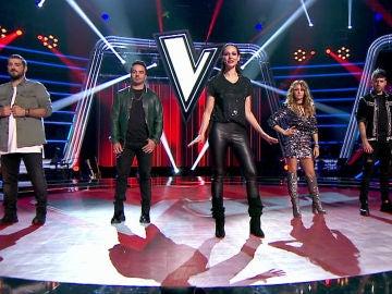 VÍDEO: Eva González y los coaches de 'La Voz' preparados para el estreno el 7 y 8 de enero en Antena 3