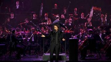 Raphael, en concierto en el Teatro Real