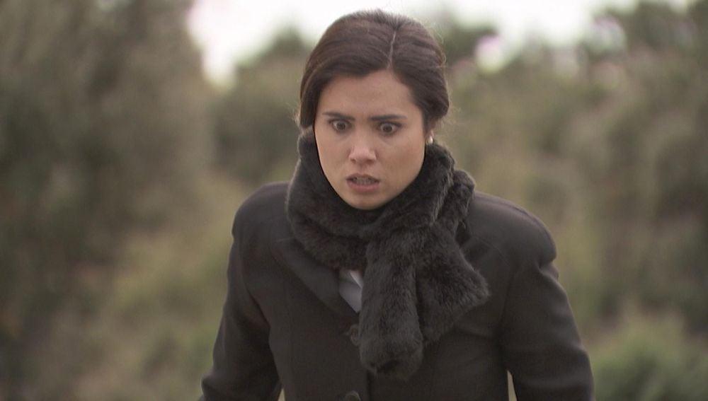 María, en shock ante un brutal asesinato