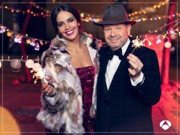 Las Campanadas 2018 con Cristina Pedroche y Alberto Chicote
