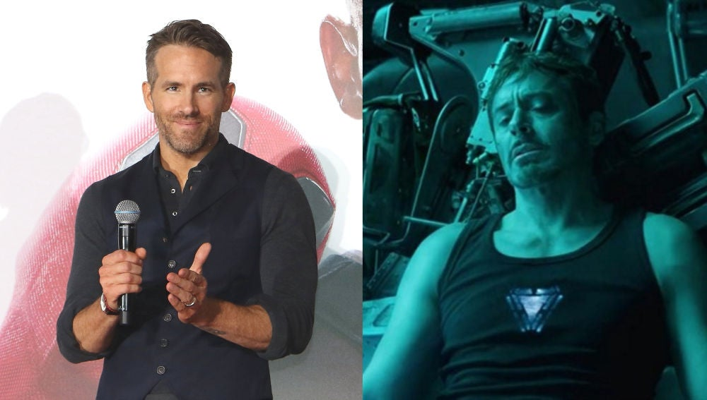 Ryan Reynolds y Robert Downey Jr.