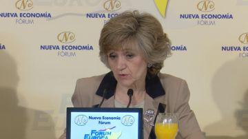 Carcedo asegura que se eliminará el copago farmacéutico a rentas menores de 9.000 euros con hijos a cargo