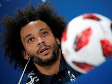 Marcelo comparece ante los medios de comunicación