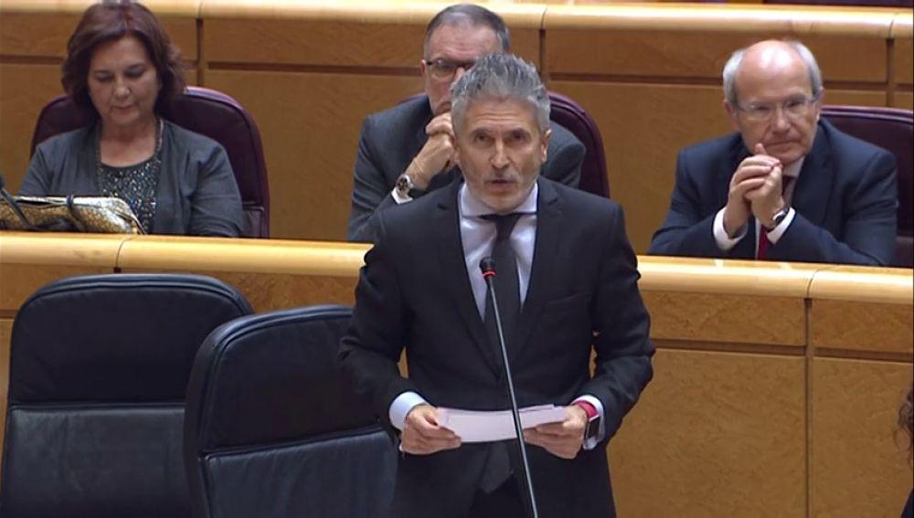Grande-Marlaska asegura que el Gobierno garantizará la seguridad del Consejo de Ministros en Barcelona