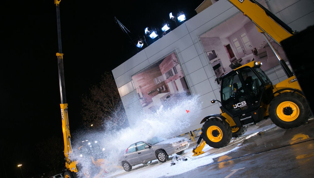 El explosivo lavado express de coche en 'El Hormiguero 3.0'