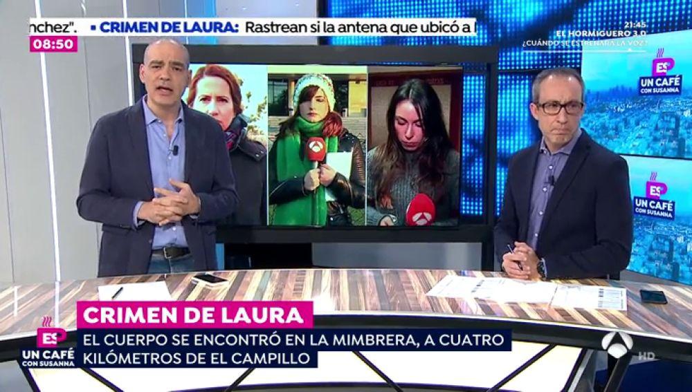 """Nacho Abad: """"Laura Luelmo fue asesinada, encontraron su cuerpo con las manos atadas a la espalda en un lugar de difícil acceso"""""""