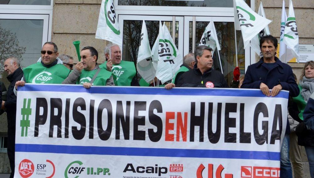 La plataforma sindical de trabajadores de Instituciones Penitenciarias