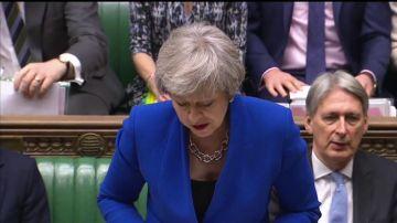 May dice que revelará resultados del diálogo con la UE a principios de enero
