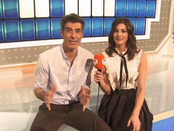 Jorge Fernández y Laura Moure felicitan la Navidad