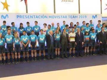 Movistar presentó de manera conjunta a los equipos masculino y femenino