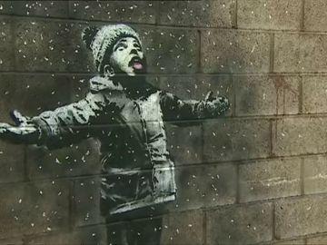 Banksy reaparece por Navidad