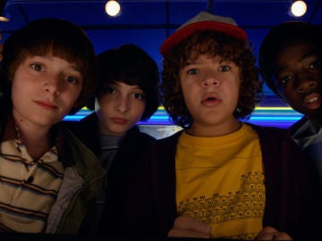 Niños de 'Stranger Things'