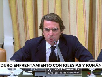 Las escenas políticas del año 2018 que querrás recordar... o no: Aznar contra Iglesias y Rufián