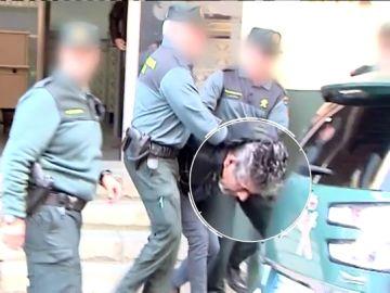 Bernardo Montoya, trasladado por la Guardia Civil