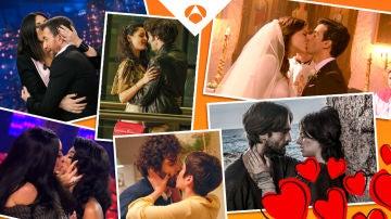 Recopilamos los mejores besos del año de Antena 3