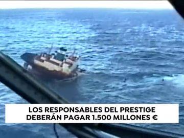 El Supremo fija en más de 1.500 millones de euros las indemnizaciones definitivas por el Prestige