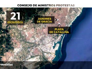 REEMPLAZO Los Mossos, la Policía Nacional y la Guardia Civil compartirán sala de mando en el dispositivo de Cataluña