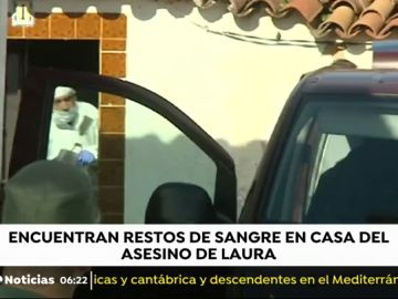 Hallan restos de sangre en la casa del presunto asesino de Laura Luelmo