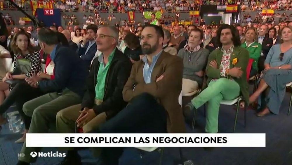 """Vox avisa de que, si PP y C's le excluyen, """"podrían abocar a Andalucía a nuevas elecciones"""""""