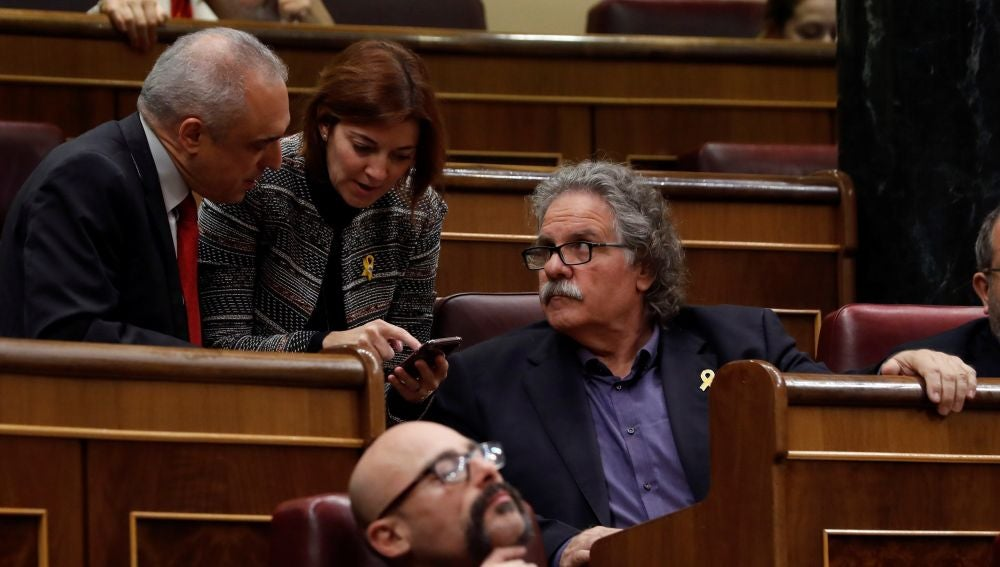 El portavoz de ERC, Joan Tardà