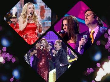 Vota por la mejor actuación de Navidad de 'Tu cara me suena'