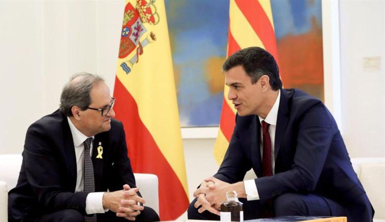 """laSexta Noticias 14:00 (20-12-18) Pedro Sánchez y Quim Torra se reunirán en Pedralbes """"sin líneas rojas"""": el formato y el contenido, por concretar"""