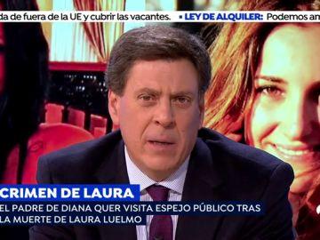 """El alegato del padre de Diana Quer por el crimen de Laura Luelmo: """"Somos familias marcadas de por vida que llevamos una pena perpetua"""""""