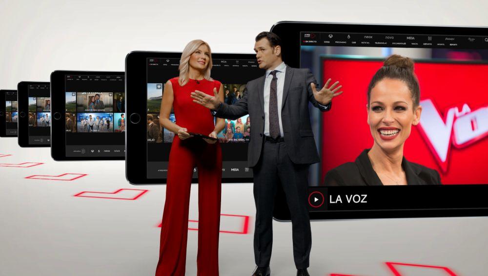 Sandra Golpe e Iñaki López te enseñan Atresplayer como nunca antes te lo habían mostrado