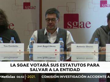 """La Junta Directiva de la SGAE presenta unos estatutos de mínimos para """"salvar"""" a la entidad"""