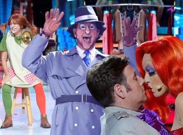 Revive las actuaciones más mágicas de dibujos animados en 'Tu cara me suena'