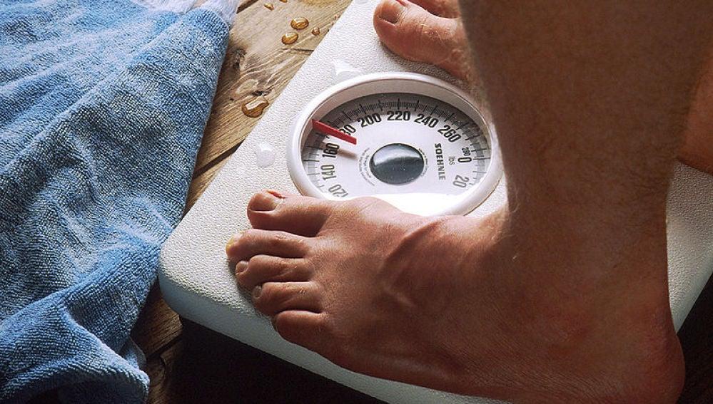 Pesarse ayuda a no engordar, cari.