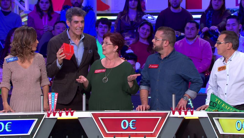 Jorge Fernández gafa a Carmen y Juanma