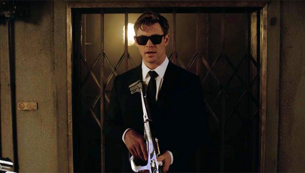 Chris Hemsworth en 'Men in Black'