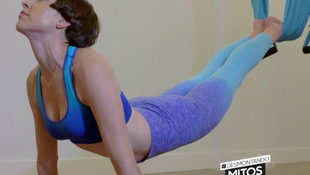 Fly yoga, la disciplina de moda