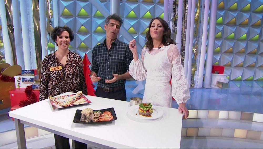Los concursantes traen la cena de Nochebuena a 'La ruleta de la suerte'