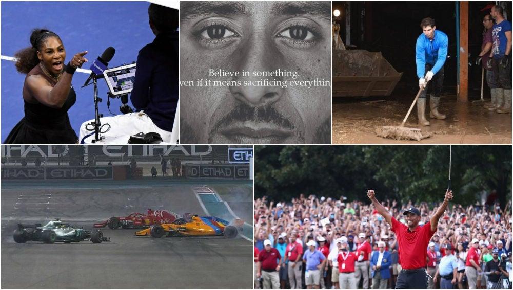 Cinco momentos imborrables del deporte en 2018