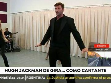 Hugh Jackman tiene todo preparado para comenzar su gira mundial cantando las mejores canciones de las obras que han marcado su carrera