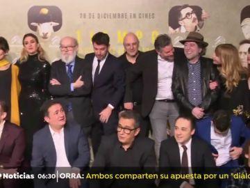 'Tiempo después', de José Luis Cuerda, ya ha sido proyectada en la premiere en Madrid