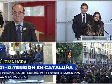 """Miquel Iceta: """"Hay que valorar que sea la Policía de Cataluña la que garantice la seguridad"""""""