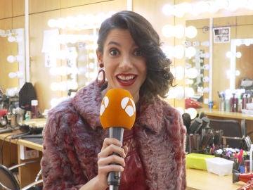 """Natalia Huarte: """"Deseo que mi personaje en el próximo año me siga sorprendiendo como hasta ahora"""""""